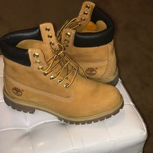 🌼Wheat color Timberland brand work boots🌼
